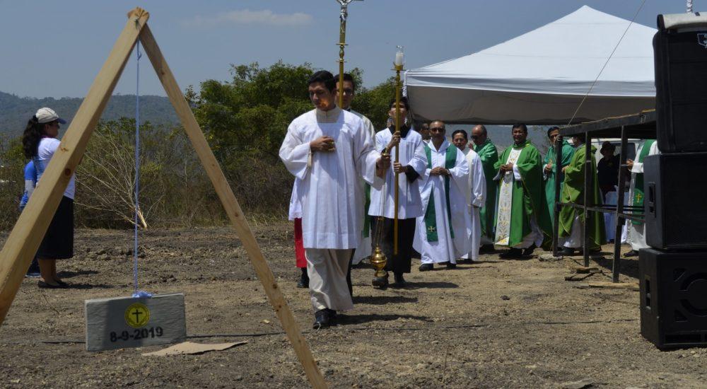 Primera piedra para Casa de Retiros de Movimiento Juan XXIII
