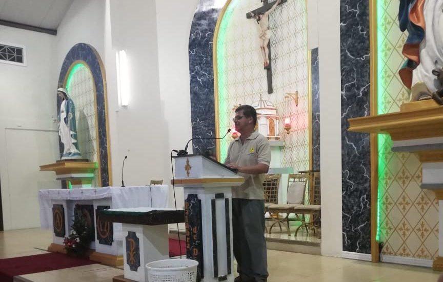 Inauguración de nueva Escuela de Formación del Movimiento Juan XXIII en Distrito Pascuales